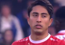 Omar Govea Royal Antwerp FC close
