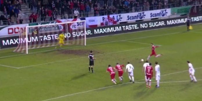 Geoffry Hairemans Royal Antwerp FC Lommel penalty promotie