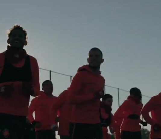 Royal Antwerp FC training play-off 1