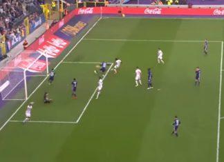 Dieumerci Mbokani goal Anderlecht - Antwerp 1-2 Play Sports