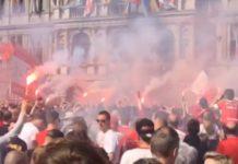 Kampioenenviering Royal Antwerp FC 9-04-2017