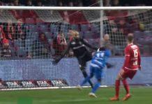 Sinan Bolat Antwerp FC save kopbal Joseph Paintsil Genk