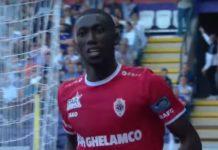 William Owusu Royal Antwerp FC voetbal