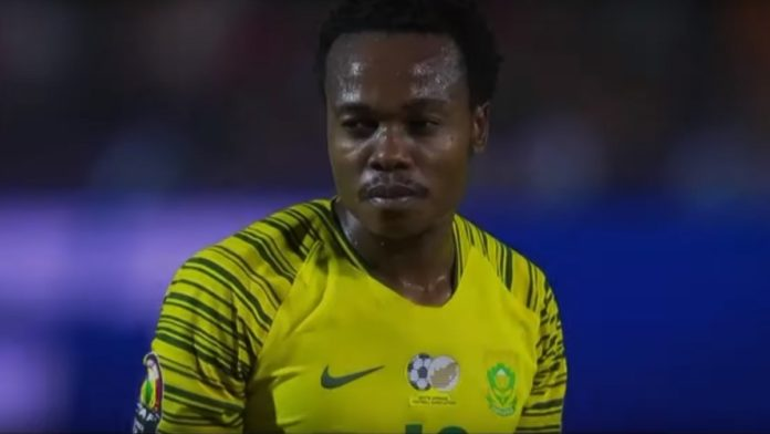 Percy Tau Zuid-Afrika Africa Cup