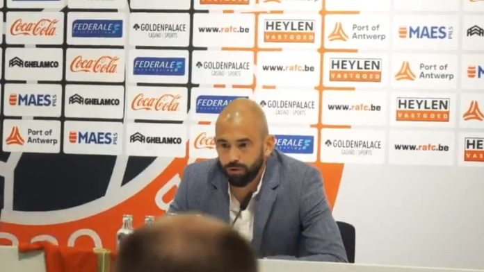 Steven Defour Royal Antwerp FC persconferentie voorstelling